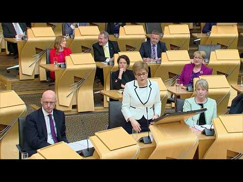 First Minister's Questions - 10 May 2018