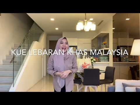 Kue Lebaran Khas Malaysia Sabbyvlog Sbhk Youtube