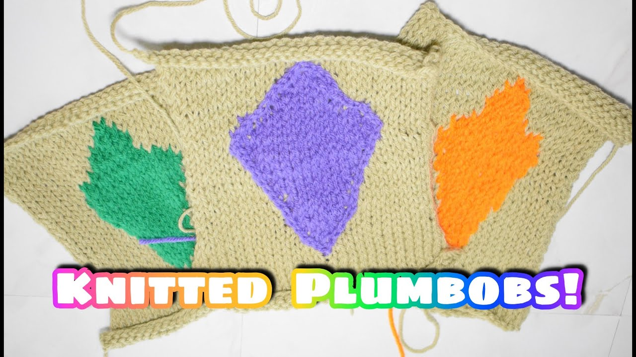 Knitted Plumbob Patch Pattern - Poll