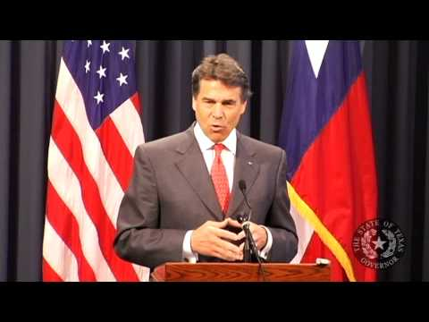 Gov. Perry: Legislative Accomplishments Will Continue to Position Texas as an Economic Leader
