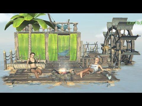 Рафт онлайн до 10 человек! Выживание на плоту андроид! Raft Survival Multiplayer!
