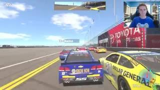 First Time Playing NASCAR Heat Evolution! | YouTube Gaming Livestream
