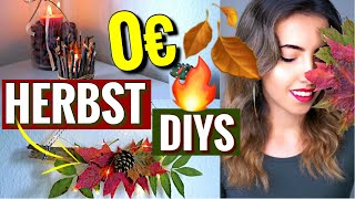 0€ Pinterest Herbst DIYs | Einfach & schnell zum selber machen | Fall Room Decor