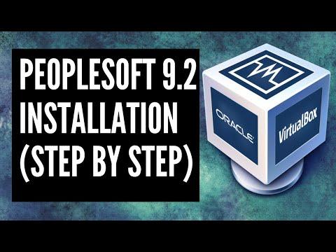 PeopleSoft Installation 9.2 on 8.55 Tools