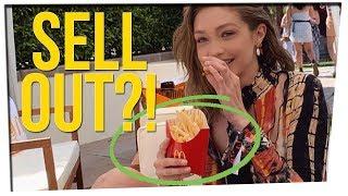 Gigi Hadid Gets Backlash for Promoting McDonald's (ft. Kelsey Darragh)