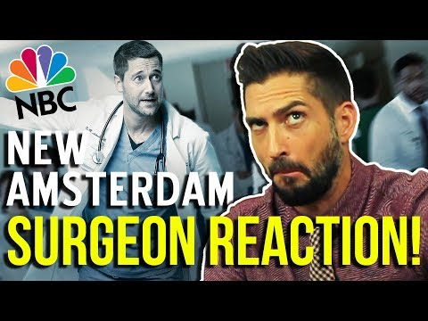 Real Surgeon Reacts to NEW AMSTERDAM   Medical Drama Review