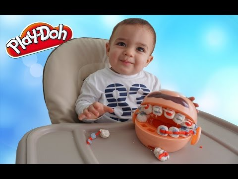New PLAY DOH Doctor Drill N Fill Playset | Pretend Dentist with Play Dough Toys!