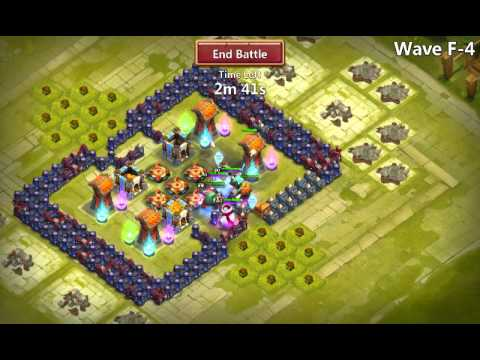 Beating HBM F: 3 heroes lvl 80  
