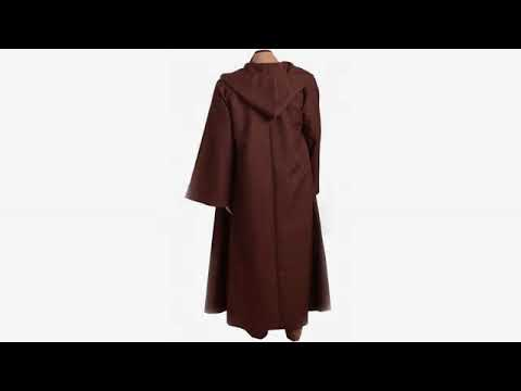 2017 halloween reviews cosplaysky star wars jedi robe costume obi wan kenobi halloween outfit me