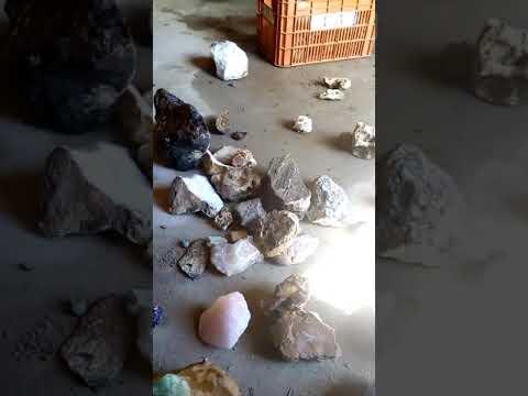 Incrível pedras preciosas encontrada em Juazeiro em Curaçá