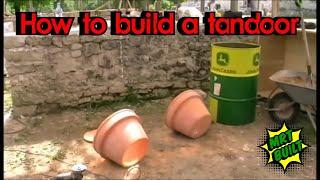Põhjaka tandoori ehitus / Põhjaka tandoori build DIY oil drum and flower pot combined
