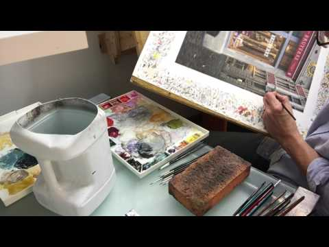 Getting Control of Watercolor for Extreme Detail