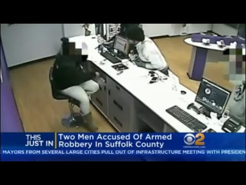 Two Men Accused Of Armed Robbery In Suffolk County