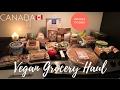 WHOLE FOODS VEGAN/PLANT BASED GROCERY HAUL CANADA | Janice Eadie