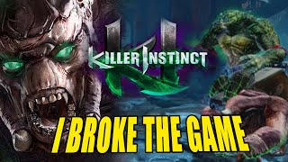 I BROKE THE GAME: Gargos -  WEEK OF! Part 1 (Killer Instinct S3)