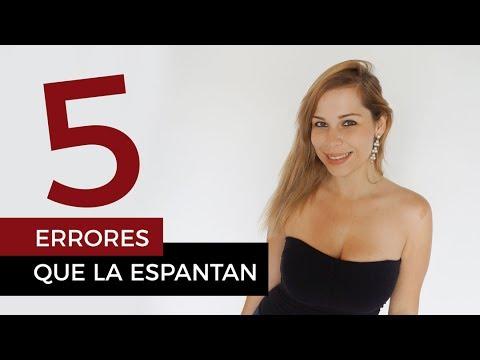 5 errores que espantan a una mujer