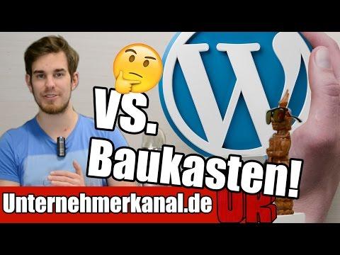 Webseite erstellen – WordPress oder Homepage Baukasten? Vor und Nachteile auf Deutsch (Tutorial)