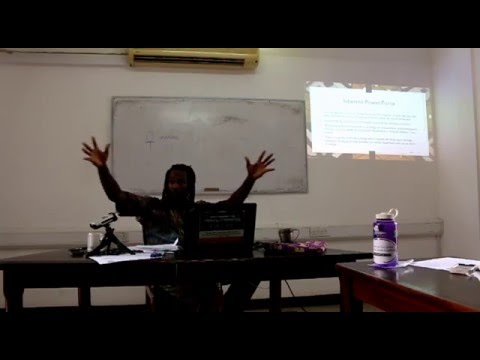 Foundations of African Thought Lecture #7: The Supreme Being, The Divinities and Spirit Forces