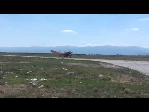 PZL M18 Dromader take off