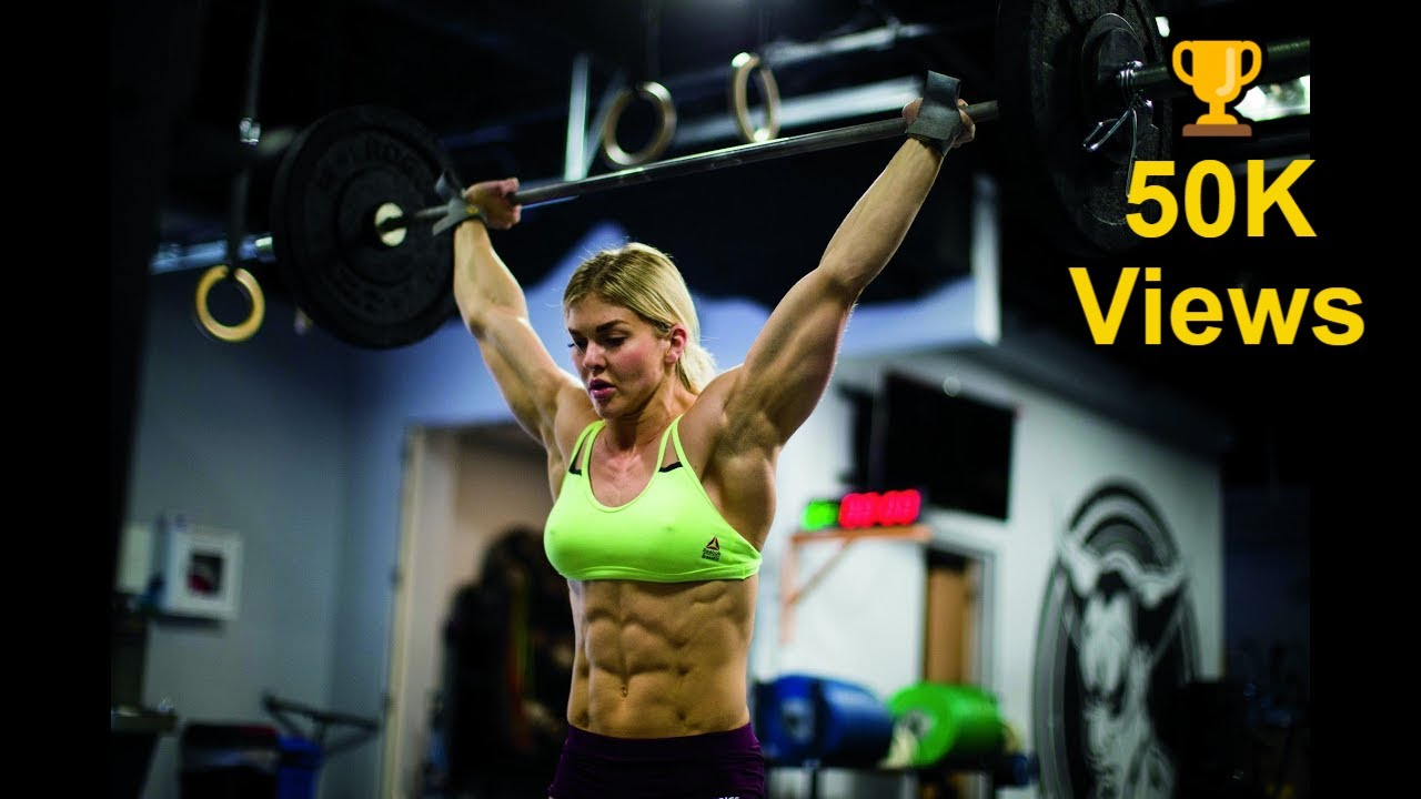 BROOKE ENCE FEMALE FITNESS MOTIVATION |WORKOUT VIDEO