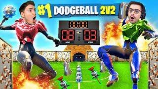 2vs2 DODGEBALL CHALLENGE con le TRAPPOLE!! Nuova Modalità FORTNITE ITA