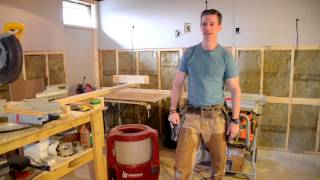 Basement renovation: How to install wainscoting--Tools, Tips, Details