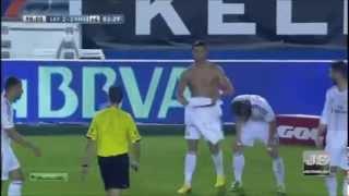 Леванте   Реал Мадрид 2 3 Чемпионат Испании 2013 2014 8 й тур Голы(Великолепный гол Роналдо. Мужик. Комментатор завидует Криштиану))), 2013-10-06T18:05:09.000Z)