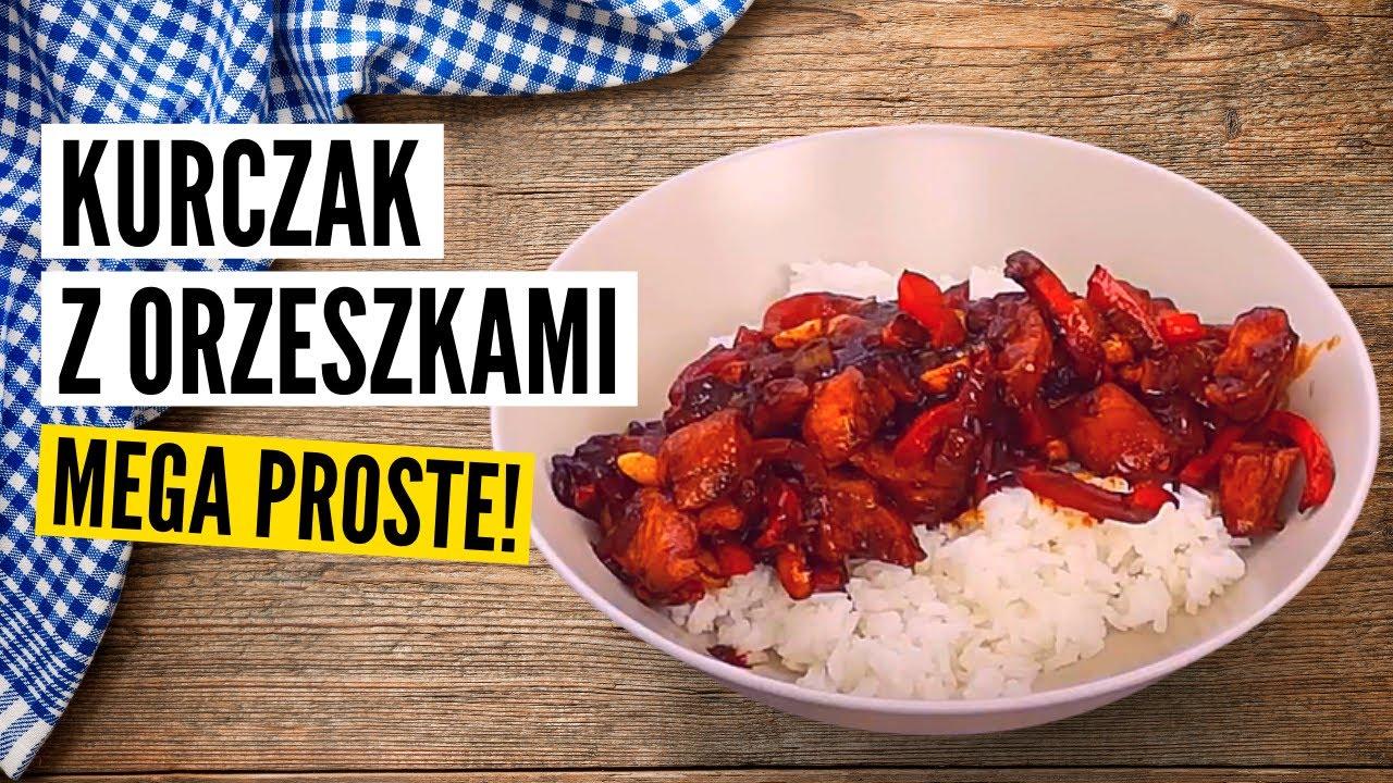 Kurczak Z Orzeszkami Prosty Przepis Kuchnia Azjatycka Youtube