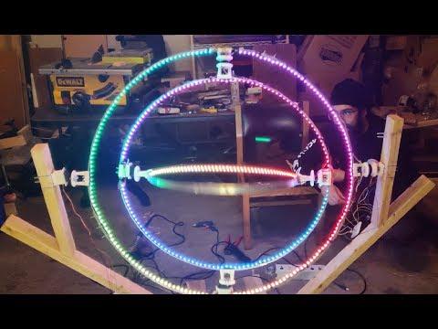 Armil (LED Spinning Armillary Sphere)