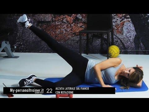Esercizi per dimagrire le gambe allenamento per snell for Workout esterno coscia