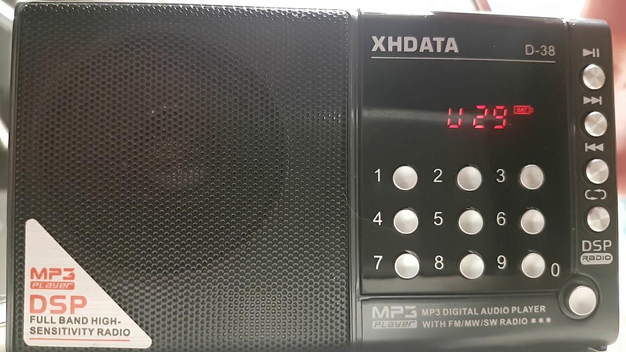 China Radio International Via Cuba Relay 9580 Khz Shortwave On XHDATA D38