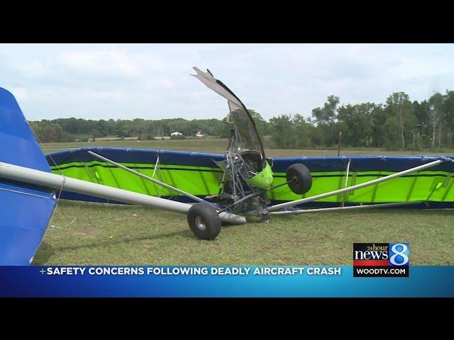 Man dies after aircraft crashes during test flight