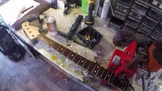 Szlif progów w Restauracji Gitar