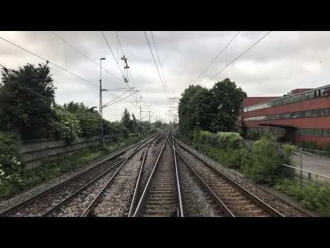 Førerrumstur Malmö Godsbangård-Padborg