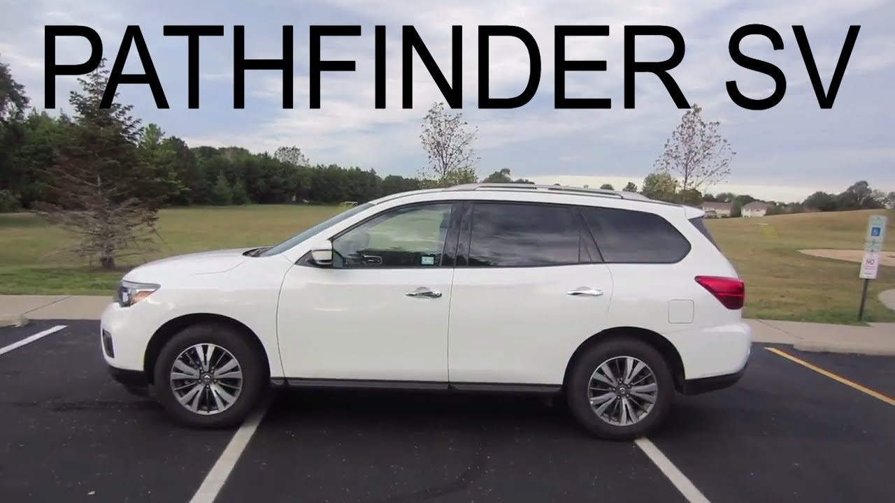 2017 Nissan Pathfinder Sv 4wd Suv Full Enterprise Car Review