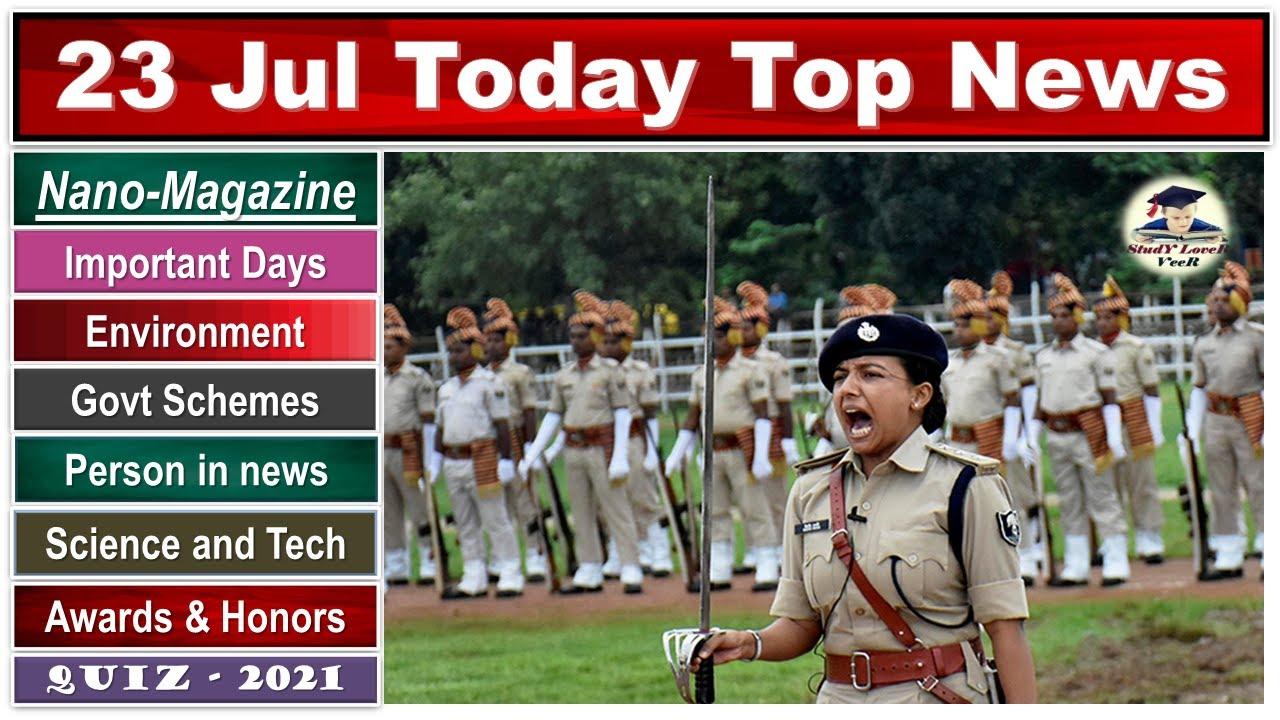 Nano Magazine 23 July 2021, The Hindu Analysis, Study Lover Veer, Current Affairs #PIB #UPSC #SLV