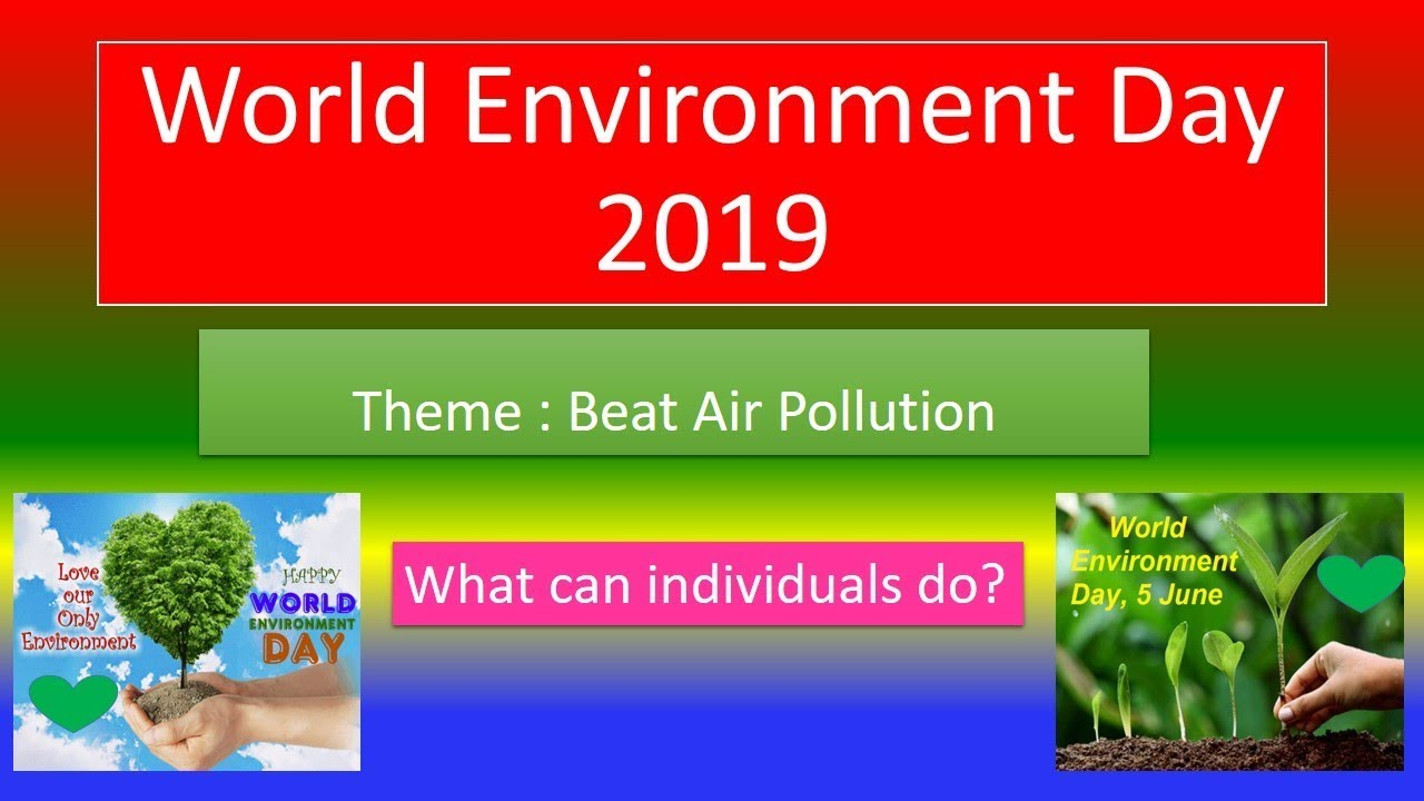 World environment day 2019 theme pictures