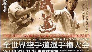 【新極真会】第11回全世界空手道選手権大会決勝日 The 11th World Karate Championship 2