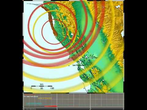 Magnitude 8 on the San Andreas Fault
