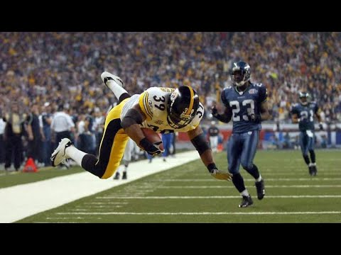 [OC] [Highlight] Today is former Steelers HB Willie Parker's 39th birthday. Here's every single TD (all 33 of them) that the 2-time Pro Bowler scored in his NFL career, including his 75-yarder against the Seahawks at Super Bowl XL