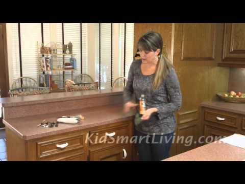 5 Fixes Easily Update Worn Scratched Kitchen Cabinets  YouTube