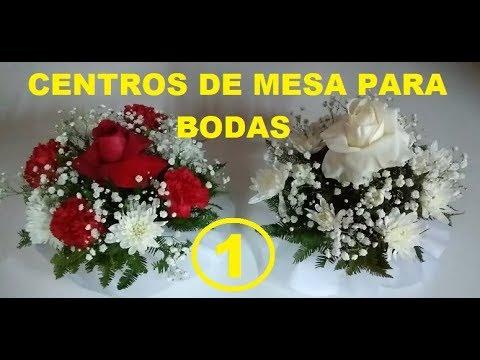 Arreglo Floral Para Centro De Mesa Bautizos Matrimonios Etc