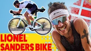 LIONEL SANDERS Ironman Hawaii TRIATHLON BIKE SETUP