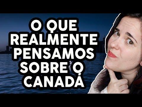 O QUE REALMENTE PENSAMOS SOBRE O CANADÁ - Ft. Carol do Fala Maluca