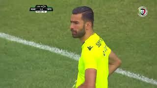 Goal | Golo Ghazaryan: Marítimo (2)-1 Sporting (Liga 17/18 #34)