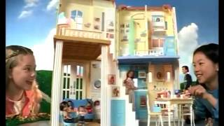 Happy Family Sounds Like Home Smart House Playset Commercial (2004)