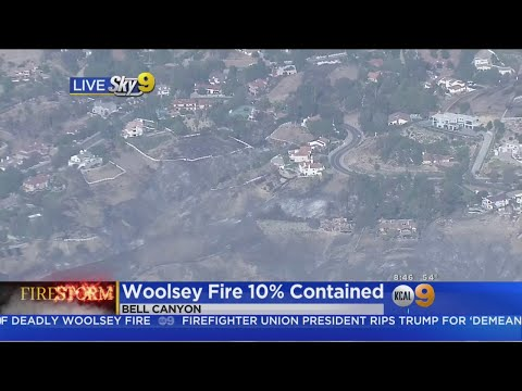 Woolsey Fire Burn Area: Flintlock & Silver Spur Lanes, Bell Canyon
