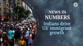 Indians drive immigration growth in US: News in numbers