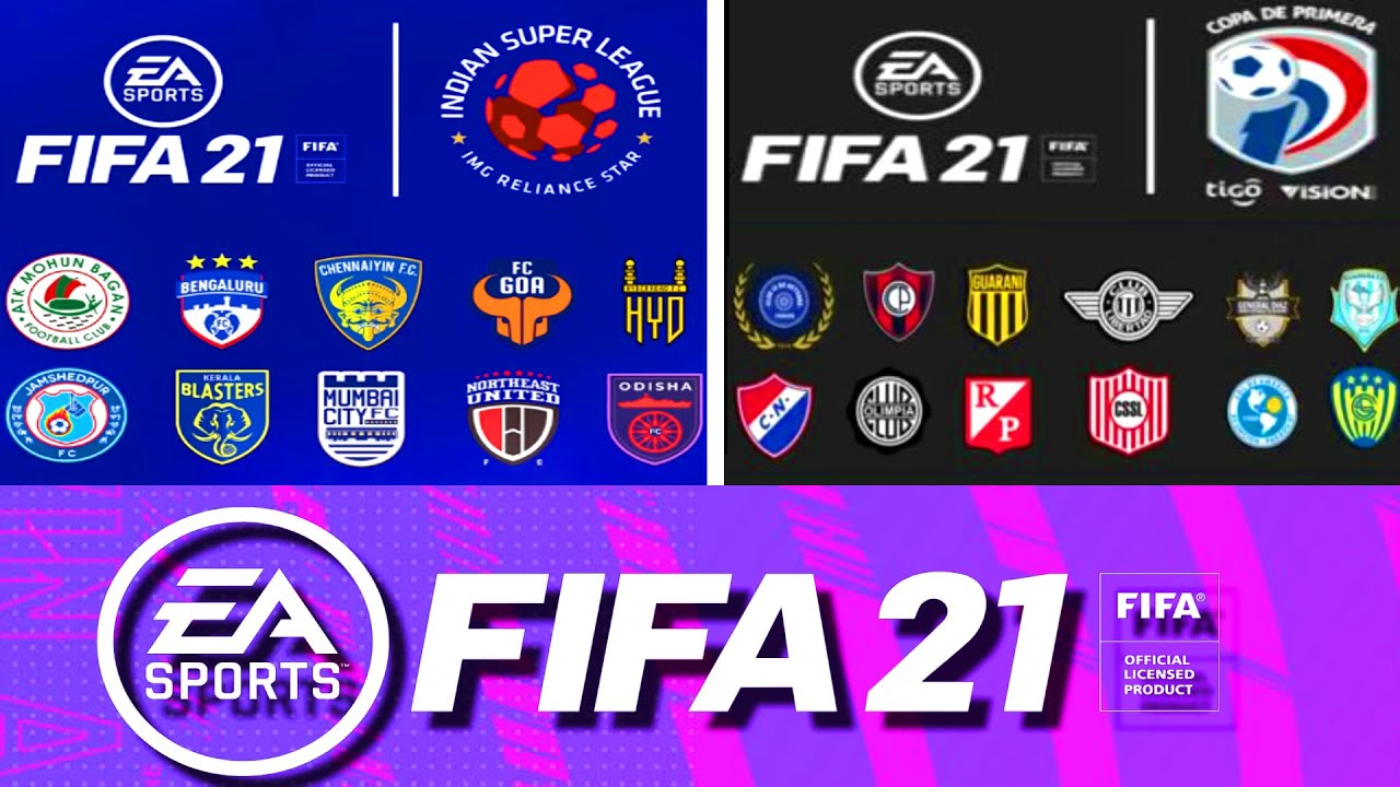 FIFA 21 new teams full list
