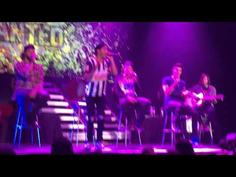 The Wanted - Love Sewn, (LIVE) Monterrey, México - First time performing love sewn.